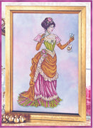 Victorian Lady - The Dance Card Cross Stitch Pattern