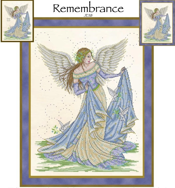 Rememberance Cross Stitch Pattern