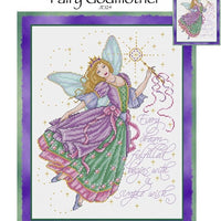 Fairy Godmother Cross Stitch Pattern