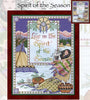 Spirit of the Season Cross Stitch Pattern