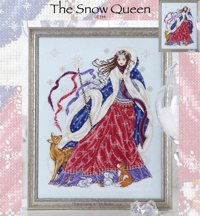 The Snow Queen Cross Stitch Pattern