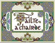 A Celtic Welcome Cross Stitch Pattern