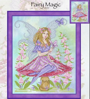 Fairy Magic Cross Stitch Pattern