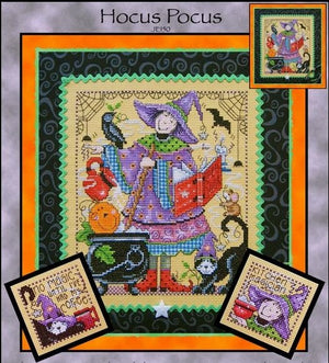 Hocus Pocus Cross Stitch Pattern