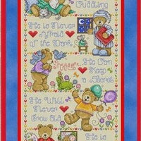 Why I Love My Teddy Cross Stitch Pattern