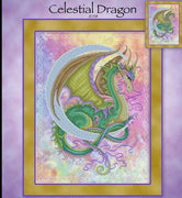 Celestial Dragon Cross Stitch Pattern