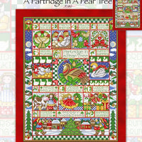 Patridge in a Pear Tree Cross Stitch Pattern