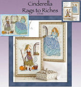 Cinderella in Rags and Riches Cross Stitch Pattern