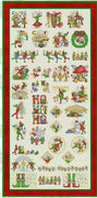 Christmas Fairy Library Cross Stitch Pattern