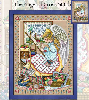 The Angels of Cross Stitch Cross Stitch Pattern