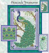 Peacock Treasures Cross Stitch Pattern