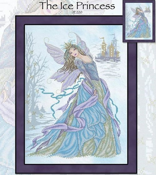 Ice Princess Cross Stitch Pattern