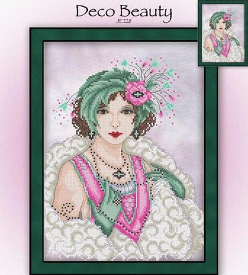 Deco Beauty Cross Stitch Pattern