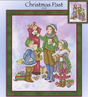Christmas Past Cross Stitch Pattern