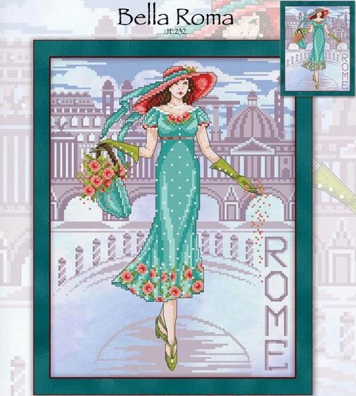 Bella Roma Cross Stitch Pattern