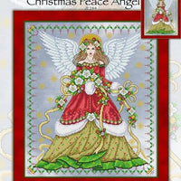 Christmas Peace Angel Cross Stitch Pattern