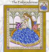 The Embroideress Cross Stitch Pattern