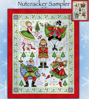 Nutcracker Suite Cross Stitch Pattern
