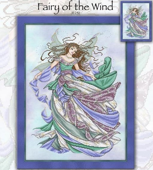 Fairy of the Wind Cross Stitch Pattern