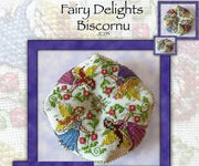 Fairy Delights Biscornu Cross Stitch Pattern