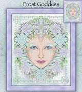 Frost Goddess Cross Stitch Pattern