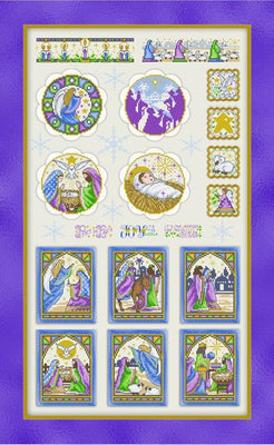 Holy Nativity Collection Cross Stitch Chart