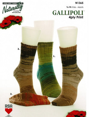 Gallipoli Socks
