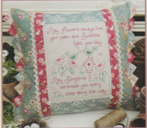 Songbirds Cushion Pattern