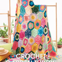 Crochet Garden Throw