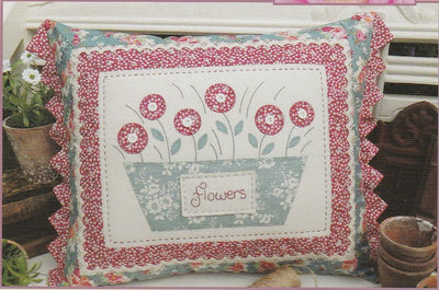 The Flower Pot Cushion Pattern