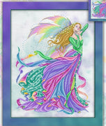 Fairy of The Rainbow Cross Stitch Pattern