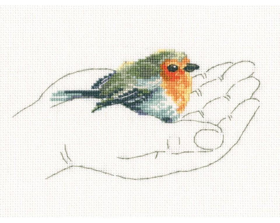 Warmth in Palms Counted Cross Stitch Kits