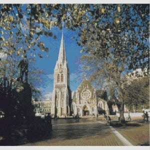 Christchurch Cathedral Cross Stitch Pattern