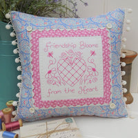 Friendship Blooms Cushion Pattern