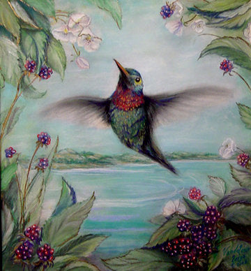 Hummingbird Cross Stitch Pattern