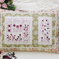 My Button Garden Cushion Pattern