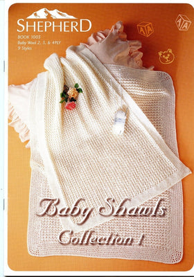 Baby Shawls Collection  - 1   Knitting Pattern Book