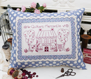 Quilters Mercantile Cushion Pattern