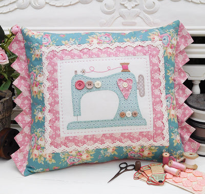 Sewing Bee Cushion Pattern