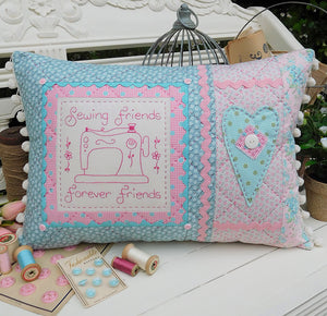 Sewing Friends Cushion Pattern