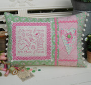 Stitching Friends Cushion Pattern