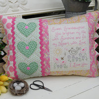 Sweet Granddaughter Cushion Pattern