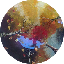 "Load image into Gallery viewer, IMMAQL8 Exquisite Art ""From an Autumn's Leave perspective"""