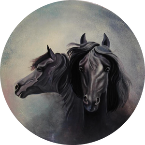 "IMMAQL8 Exquisite Art ""Equinine Alter Ego"""