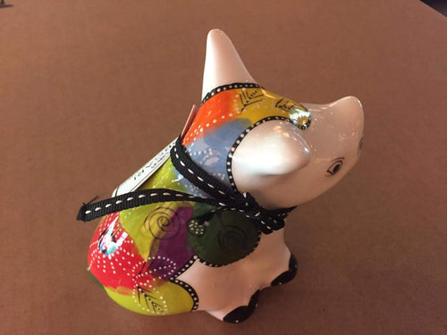 Small Ceramic Rhino -