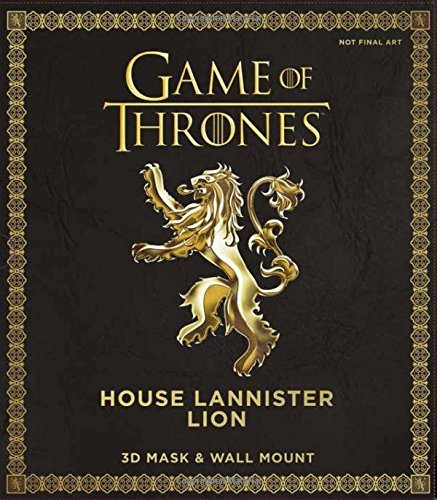- Game of Thrones Mask - House Lannister