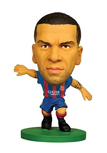 Figures - Soccerstarz - Barcelona Dani Alves - Home Kit (2015 version) /Figures