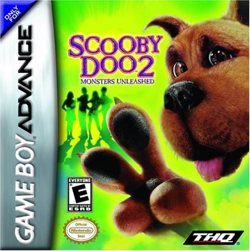 GBA - Scooby Doo 2: Monsters Unleashed (#) /GBA GAME