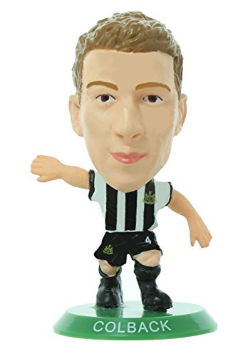 Figures - Soccerstarz - Newcastle Jack Colback Home Kit (Classic) /Figures