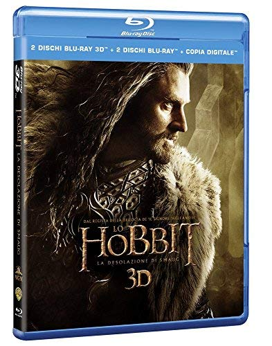 Hobbit (Lo) - La Desolazione Di Smaug (3D) (2 Blu-Ray 3D+2 Blu-Ray) - (Italian Import) - Movie BLU-RAY